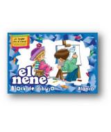 BLOCK DE DIBUJO EL NENE BLANCO N*6  24hj.- 215436  (x1)