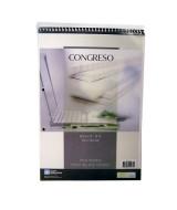 BLOCK CONGRESO C/ESP. A4 RAYADO x 80hj.- 501013  (x60)