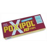 SOLDADURA PLASTICA POXIPOL TRANSP.10 MIN - POMOx14ml.  (x1)