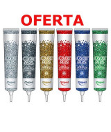 ADHESIVO GLITTER COLOR PEPS PLATA 50ml.- 812043