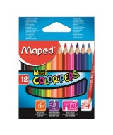 LAPICES DE COLOR MAPED COLOR PEPS CORTOS - CAJAx12un.-832500