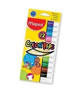 TEMPERA MAPED C.PEPS COL.SURT.+ COL.FLUO-CAJAx12un.- 826070