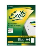 BLOCK EXITO A4 80hj.CUADRICULADO - 100006  (x40)