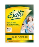 BLOCK EXITO ESCOLAR PEGADO 16x21cm.48hj.RAYADO - 100007  (x1)