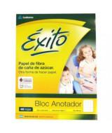 BLOCK EXITO ESCOLAR PEGADO 16x21cm.48hj.CUADRICULADO-102595  (x1)