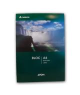 BLOCK PAPEL OBRA AVON LISO A4 - 80hj.  (x1)