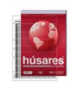BLOCK HUSARES BUSINESS A4 5 PERF.CUADRICULADO 80hj.- 6335  (x1)