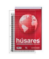 BLOCK HUSARES BUSINESS OFICIO 2 PERF.CUADRICULADO 80hj.-6331  (x1)