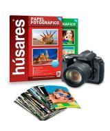 PAPEL HUSARES FOTOGRAFICO 230gr.- PAQ.x20hj.- 7908