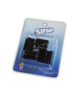 BINDER CLIPS SIFAP 25mm.NEGRO - BLISTERx6un.  (x1)