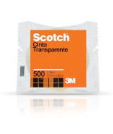 CINTA SCOTCH 500 - ROLLO 12mm.x 66mt.- 17407  (x1)