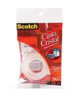 CINTA SCOTCH CRISTAL 12mm.x20mt.- 51758  (x1)