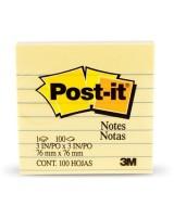 BLOCK DE NOTAS POST-IT R-330 - 76x76mm.- 39777  (x1)
