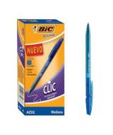 BOLIGRAFO BIC CRISTAL CLIC 1mm. AZUL - 937701