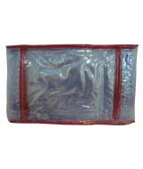 FUNDA PVC P/CUAD.LIGGO 19x23 150mic.ROJO-PAQ.x10-380-0211