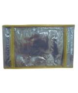 FUNDA PVC CUAD.LIGGO 19x23 150mic.AMARILLO-P.x10-380-0215