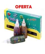 ADHESIVO PLASTICO CONFETTI SURTIDO - CAJAx6un.