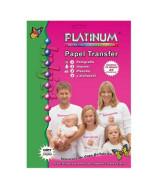 TRANSFER PLATINUM P/ROPA A4 - CAJAx10hj.- 868241  (x1)