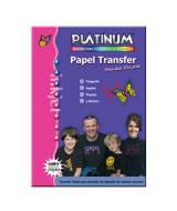 TRANSFER PLATINUM ROPA OSCURA A4-CJ.x10hj.-868261/868281  (x1)