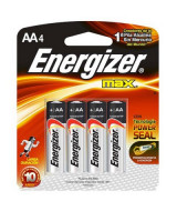 PILA ENERGIZER AA - BLISTER x 4un.  (x1)