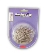 BROCHES CLIP METAL TRAZOS LINE 33mm.