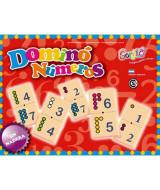 JUEGO DOMINO NUMEROS - 118  (x1)