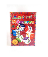JUEGO EDUCATIVO CUBOS NUMEROS - 460  (x1)