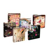 CARPETA CARTONE LIVE & LOVE N*3 3an.x40mm.- LAL4771  (x1)