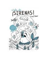 LIBRO  P/LEER Y PINTAR VIDA DE...¡SIRENAS! - 1455  (x1)