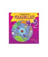 LIBRO CUADERNO DE MANDALAS P/COLOREAR 4-5 AÑOS - 1006  (x1)
