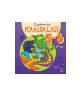 LIBRO CUADERNO DE MANDALAS P/COLOREAR 5-6 AÑOS - 1007  (x1)