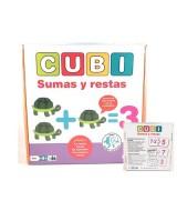 JUEGO DE MESA CUBI SUMAS Y RESTAS - 1405  (x1)