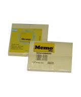 BLOCK NOTAS MEMOFIX 46x37mm.AMAR.-100-P.x4 Un.  (x1)