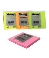 BLOCK NOTAS MEMOFIX- x80HJ-75x75mm.NEON-603  (x1)