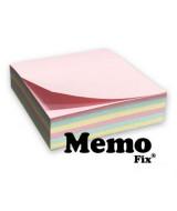 BLOCK NOTAS MEMOFIX- CUBO x195HJ-74x74mm.PASTEL-206  (x1)