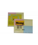 BLOCK NOTAS MEMOFIX 200XS PASTEL 46x37mm.-BL.x4 Un.  (x1)