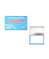 ALMOHADILLA METALICA P/SELLOS PAGODA N* 1 10x6cm.  (x1)