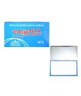 ALMOHADILLA METALICA P/SELLOS PAGODA N* 3 16x9cm.  (x1)