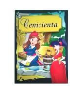 LIBRO DE CUENTOS MINI CLASICOS ACOLCHADOS:CENICIENTA  (x1)