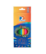 LAPICES DE COLOR EZCO LARGOS - CAJAx12un.