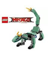 LEGO NINJAGO GREEN NINJA MECH DRAGON MICRO BUILD 30428  (x1)