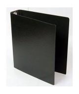 CARPETA F.NEGRA N*3 PLASTIF. 3an.x40mm.- 645  (x1)